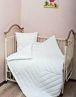Набор: детское одеялко(140 см*110 см)+подушка(40 см*60 см)