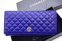 Женский кошелек Chanel (ch 721) blue