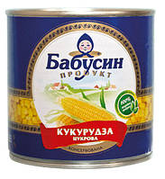Кукуруза Бабусин Продукт 340г 959356