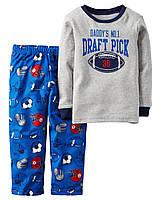 Теплая пижама с флисовыми штанами для мальчика Carters