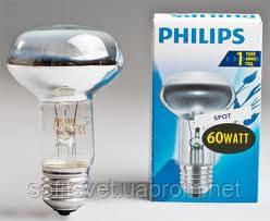 Лампа накаливания R63 60Вт E27 Philips (16003665)