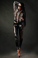 Костюм с курткой Леопард Парео