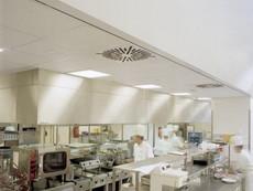 Звукопоглощающие потолочные панели Ecophon Hygiene