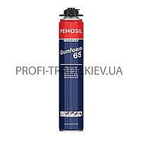 "PP-0001 PENOSIL Полиуретан. под пистолет, монтажная пена,  65"" 850ml"
