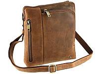 Мужская сумка на плечо Visconti 15056 - Roy (Oil Tan)