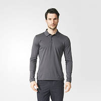 Рубашка-поло для мужчин Porsche Design Sport by adidas LS Piqué Polo AX5995