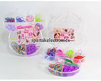 Резиночки для браслетов Loom Band LB016, разноцветные резиночки для плетения браслетов, набор резинок
