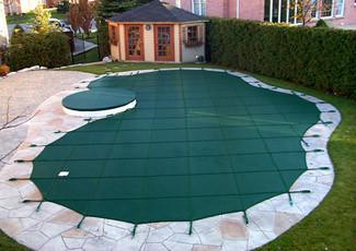 Всесезонні накриття для басейнів