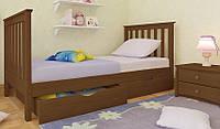 Кровать подростковая Ариана Мини Woodland натуральное дерево