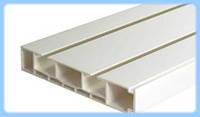 2-х полосный пластиковый потолочный карниз для штор ОМУ-2