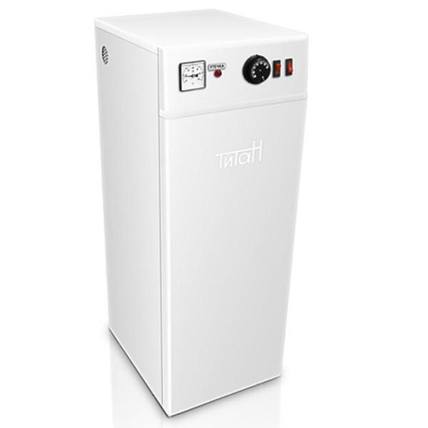 Электро котел ТИТАН 4 кВт  220 В (2+2) Напольный Трехступенчатые, регулятор и индикатор температуры