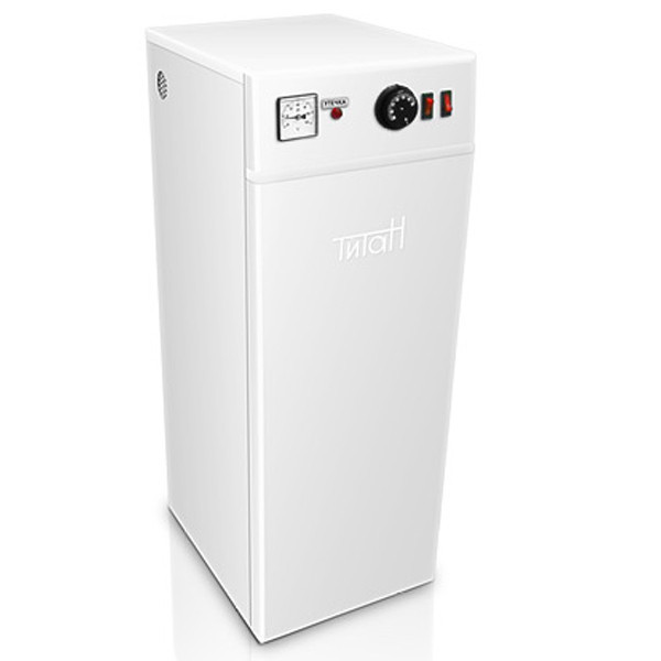 Электро котел ТИТАН 5 кВт  220 В (2+3) Напольный Трехступенчатые, регулятор и индикатор температуры
