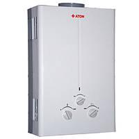 Газовая колонка проточная Aton JSD 16-8C (10л-мин) Дымоход, автомат (батарейки)