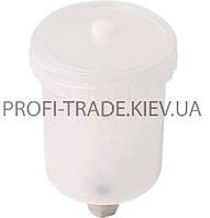 80-943 Бачок пластиковый на пневмопистолет, 600мл, внутр. резьба (для HVLP)