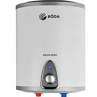 Бойлер настенный RODA Aqua Inox 10 V Нержавейка, плоский, дисплей, 1300/2000 w, вертикальный