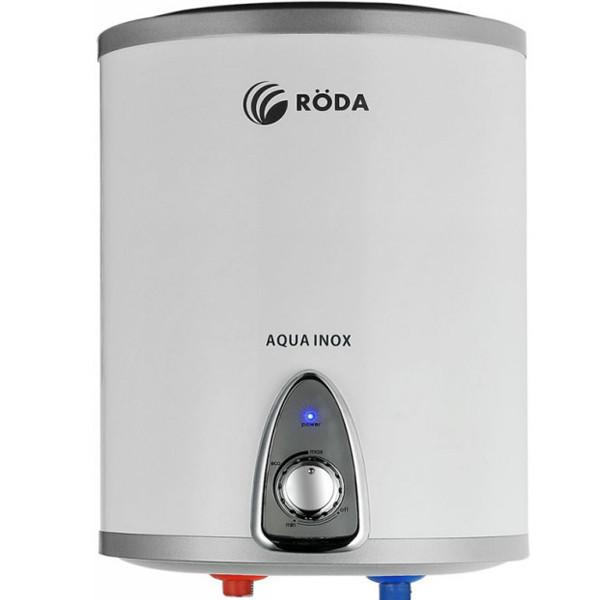 Бойлер настенный RODA Aqua Inox 15 V Нержавейка, плоский, дисплей, 1300/2000 w, вертикальный