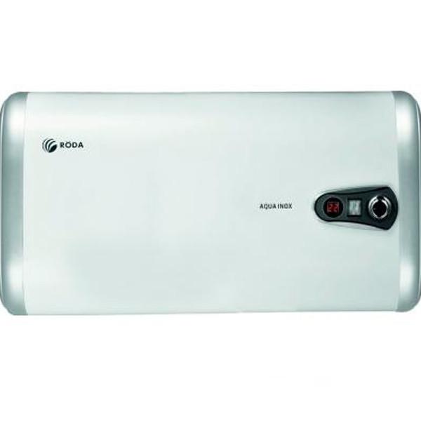 Бойлер настенный RODA Aqua Inox 50 H Нержавейка, плоский, дисплей, 1300/2000 w, горизонтальный - OptMan - самые низкие цены в Украине в Харькове