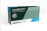 MedaSEPT® Latex premium PF  Перчатки латексные смотровые и защитные , одноразовые, неопудренные
