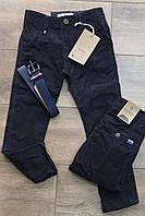 Катоновые брюки  для мальчиков 110- 122 рост
