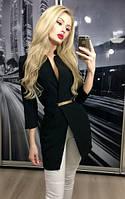 Пиджак женский, черный