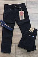 Катоновые брюки  для мальчиков 110- 140 рост