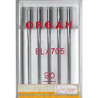 Иглы для оверлока № 90/14, OR, (ELx705 Chromium), 1уп. =5шт
