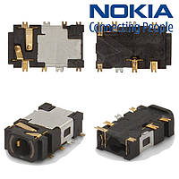 Коннектор handsfree для Nokia N76/N78/N810/N95, оригинал