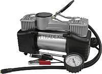 81-118 Миникомпрессор автомобильный двухпоршневой, 12В, 10бар, 60л/мин, клеммы