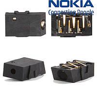 Коннектор handsfree для Nokia 112 / 113, оригинал