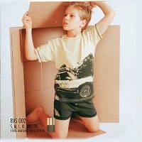 Комплект трикотажного детского белья atlantic BVS-002 рост ребенка 140