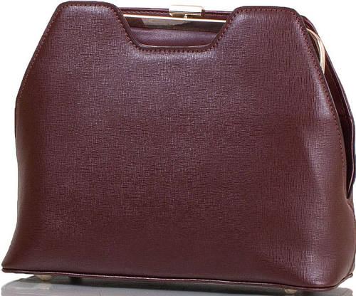 Красивая женская сумка из качественной искусственной кожи ANNA&LI (АННА И ЛИ) TU14109L-brown (коричневый)