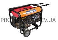 83-600 Бензогенератор 4-тактный 6,0/6,5кВт 220Вт потреб 0,45л/кВтч бак 25л.