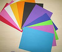 """Фоамиран, набор """"Радуга"""". 20 Листов в упаковке."""