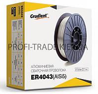 ER4043 Проволока сварочная Gradient алюминевая 0,8мм 0,5кг