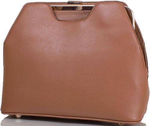 Неотразимая женская сумка из качественной искусственной кожи ANNA&LI (АННА И ЛИ) TU14109L-khaki (бежевый)