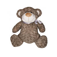Мягкая игрушка - МЕДВЕДЬ (коричневый, с бантом, 25 см)