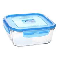 Luminarc Pure Box Active емкость для еды квадратная 1220мл, 169551, /П1