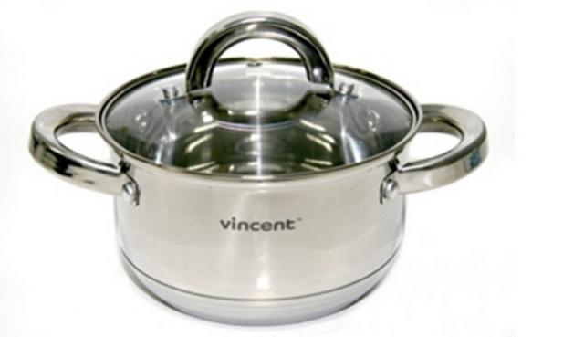 Vincent Кастрюля D=24см 6,1л VC-3167-24, 168797, /П1