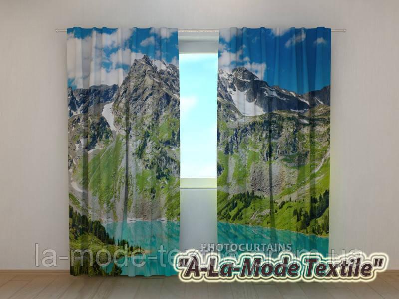Фотошторы 3D Чарующие горы