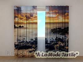Фотошторы 3D Чарующий закат