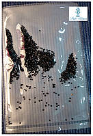 Алмазная крошка, пиксели для дизайна ногтей, кристалы 1440шт., черный