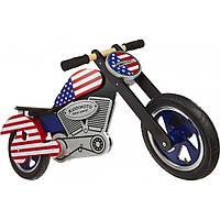 """Беговел деревянный 12"""" Kiddi Moto Chopper USA"""