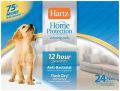 Супервпитывающие пеленки для собак и щенков с привлекающим запахом- 24шт. Размер 56х56см.