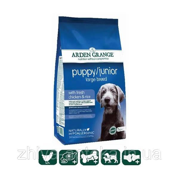 Puppy Junior Large Breed сухой корм для щенков и юниоров крупных пород от 2-х до 14мес, 2кг