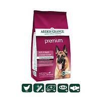 Сухой корм для взрослых собак Premium с курицей и рисом для привередливых животных 2кг
