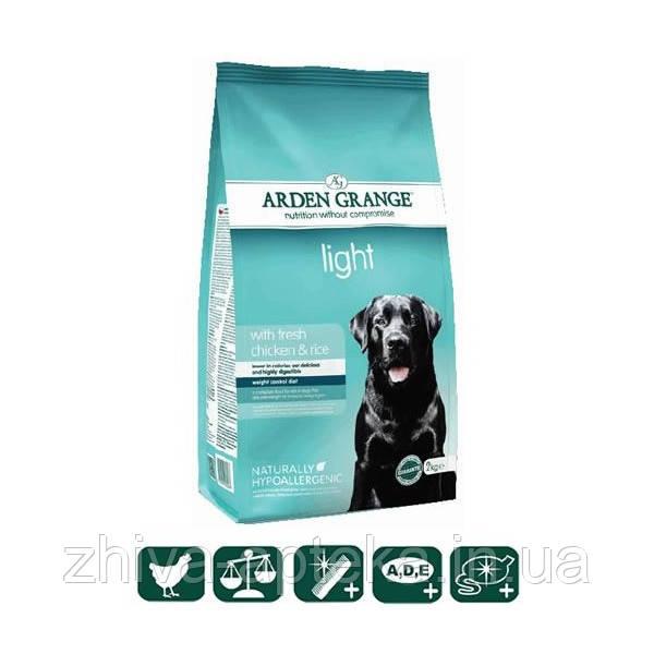 Диетический сухой корм для взрослых собак  со свежей курицей и рисом 2кг