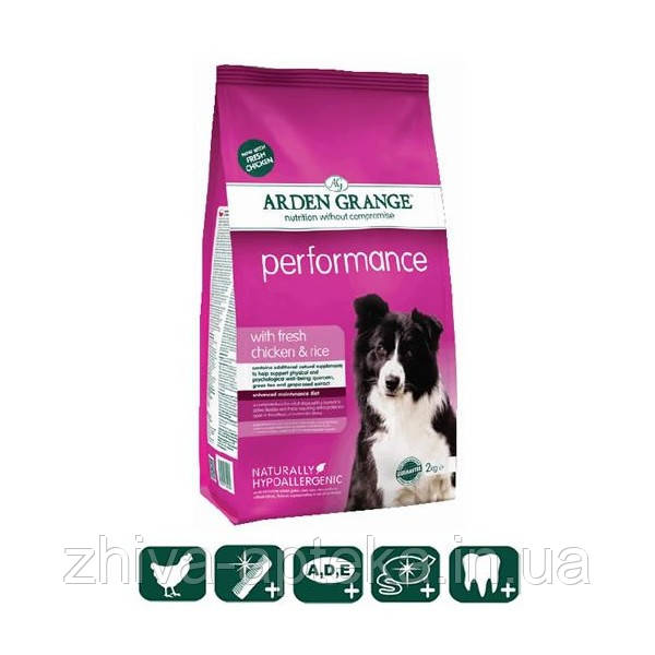 Adult Dog Perfomance Сухой корм для активных собак 12кг