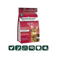 Корм беззерновой для взрослых кошек со свежей курицей и картофелем, 0,4кг