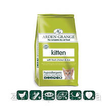 Корм со свежей курицей и рисом для котят от 5 недель до 1 года со свежей курицей и рисом, 0,5кг