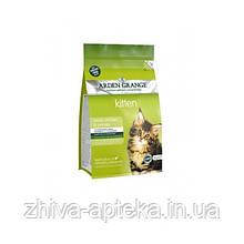 Беззерновой корм для котят от 5 недель до 1 года, со свежей курицей и картофелем, и для кормящих кошек 2кг